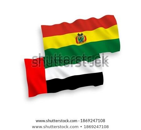 emberek · zászló · Bolívia · izolált · fehér · megbeszélés - stock fotó © istanbul2009