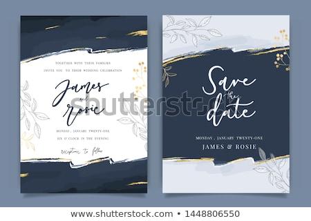 roxo · linha · casamento · telha - foto stock © morphart