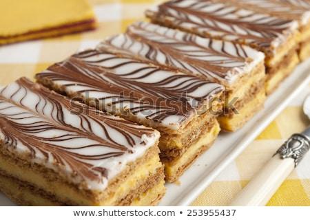 сахарная пудра фрукты торт клубника Sweet Сток-фото © Digifoodstock