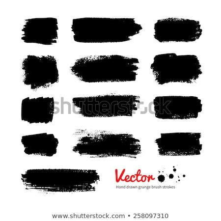 Piszok fekete mázgás kép textúra absztrakt Stock fotó © nicemonkey