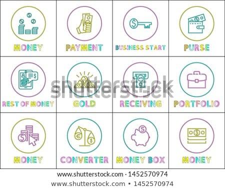 simple · ligne · internet · vecteur - photo stock © robuart