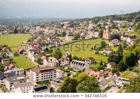 Building in Vaduz, Lichtenstein Stock photo © boggy