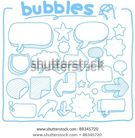 Cloud with tools hand drawn outline doodle icon. Stock photo © RAStudio