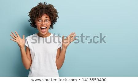 excité · jeunes · entrepreneur · succès · affaires - photo stock © deandrobot