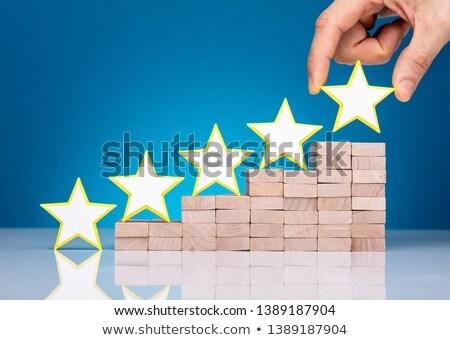 Star vorm leidend top Stockfoto © AndreyPopov