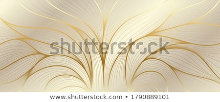 Art deco golden background.  Stock photo © Artspace