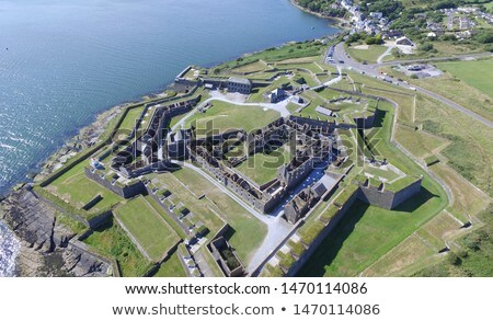 Fuerte Irlanda rastrear fortificación cielo Foto stock © borisb17