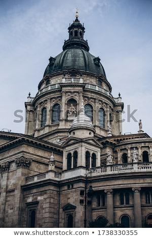 Detalle arquitectónico edificio principal ciudad centro calle Foto stock © Anneleven