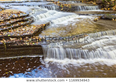Rochas ondas rolar natureza beleza Foto stock © morrbyte