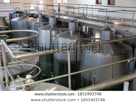 cellar in big modern building Stock photo © MiroNovak