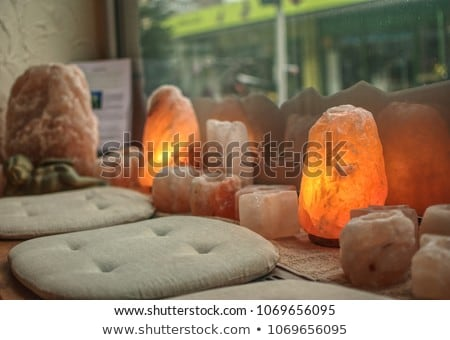 Salt as a lamp Stock photo © smuki