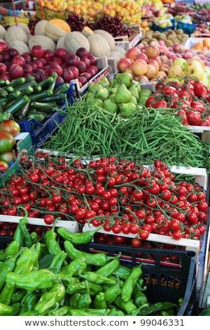 Farmers Market Common Beans Stock photo © milsiart