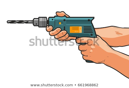 man holding a puncher  Stock photo © OleksandrO