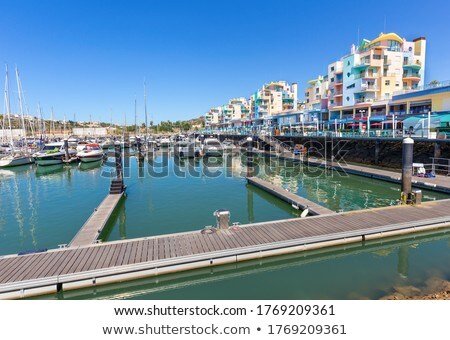 harbour of albufeira Stock photo © compuinfoto