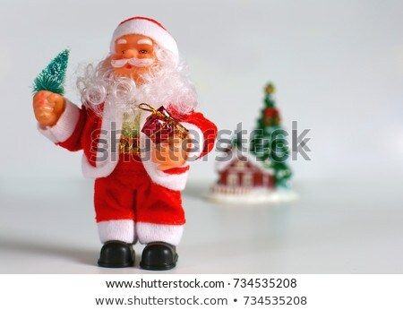 Puppet Santa Claus for merry xmas Stock photo © alphaspirit
