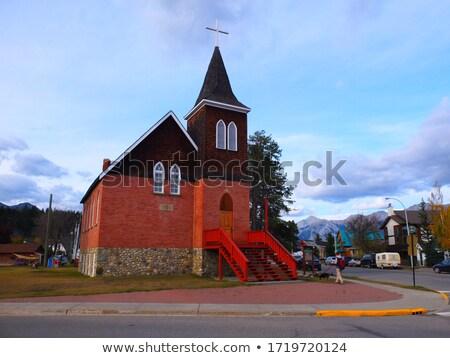 Church in Jasper   Stock photo © benkrut