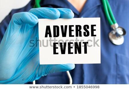 Ocupação médico do sexo masculino ilustração homem médico trabalhar Foto stock © colematt