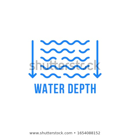 water level meter icon vector outline illustration Stock photo © pikepicture