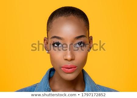 Closeup of a serious young woman Stock photo © photography33