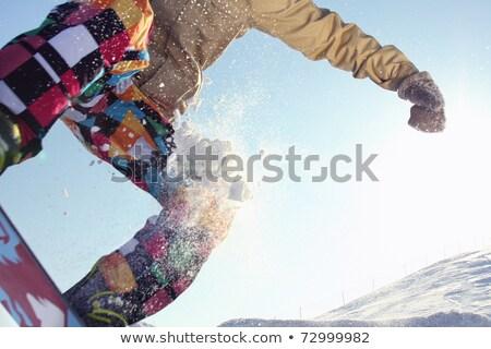 クローズアップ 十代の スキーヤー 女性 眼 顔 ストックフォト © photography33