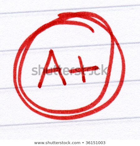Excellent written in red ink. Stock photo © latent