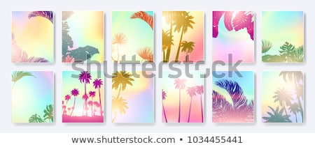 Tropical beach collection Stock photo © moses