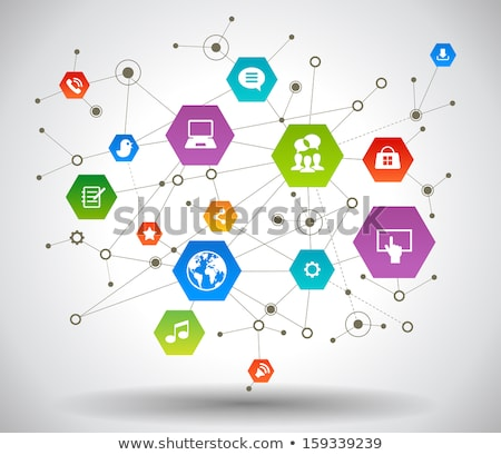 Vector Wireless Technology Concept Stock photo © dashadima