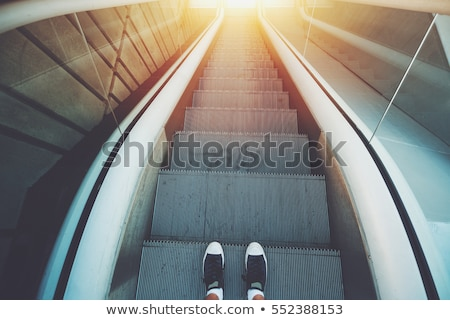 Gumshoes at staircase Stock photo © racoolstudio