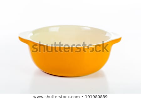 Emtry soup cup isolated  stock photo © hin255