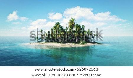 Paradise tropical island Stock photo © maxmitzu