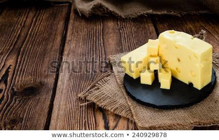 Formaggio piatto alimentare giallo Foto d'archivio © Digifoodstock