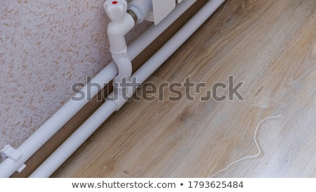 Pipes  in wood Stock photo © papa1266