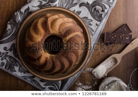 monkey bread with chocolate food photography stock photo © peteer