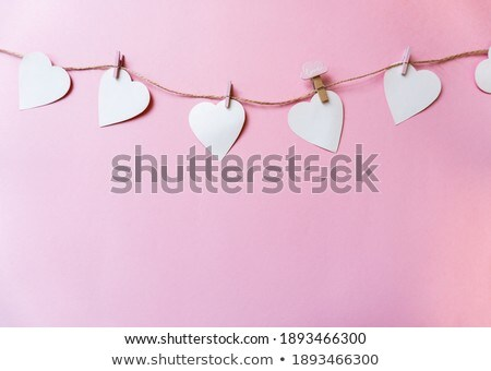 Clothespin letter P Stock photo © boggy