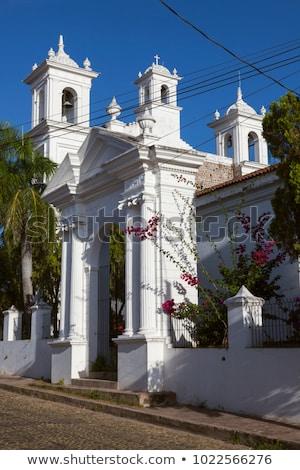 Santa Lucia Church in Suchitoto Stock photo © benkrut