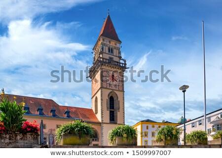 altes rathaus old town hall passau stock photo © borisb17
