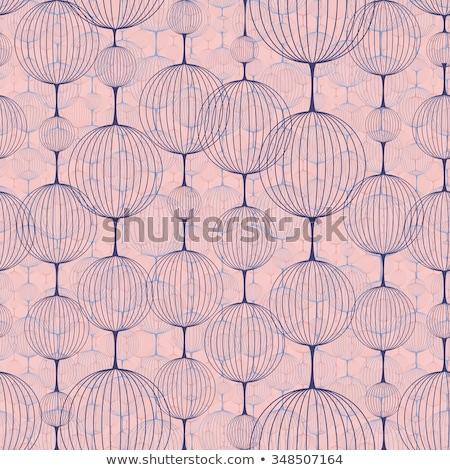 Decorativo linterna ornamento color retro Foto stock © pikepicture