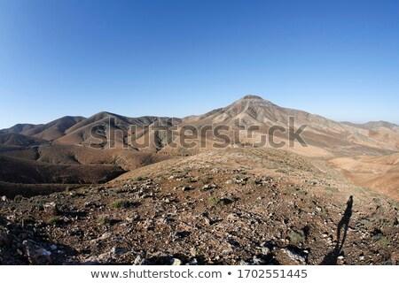 Berg landschap mooie hemel landschap Stockfoto © hamik