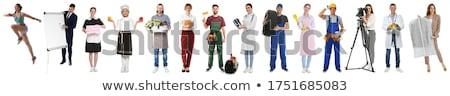 Personas diferente grupo de personas stand blanco Foto stock © Voysla