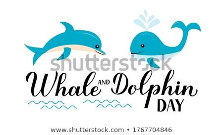 Stockfoto: World Animal Day Card Of Cute Wildlife Stickers