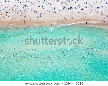 Okyanus sahil görmek mükemmel seyahat tatil Stok fotoğraf © Anneleven