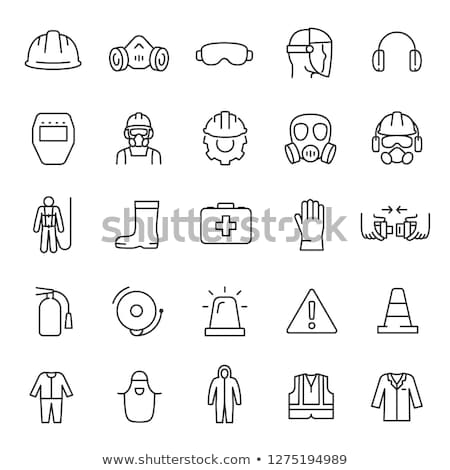 Safety Vest Icon Vector Outline Illustration stock photo © pikepicture