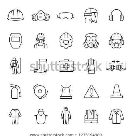 Ikona wektora ilustracja podpisania Zdjęcia stock © pikepicture