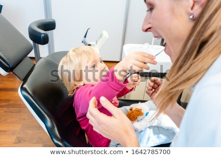 ребенка Стоматологи служба удобный играет инструменты Сток-фото © Kzenon