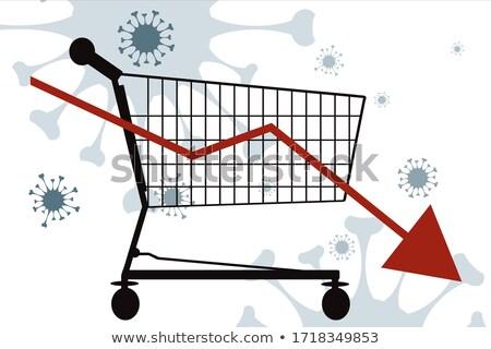 coronavirus induced economic crisis stock photo © kotenko