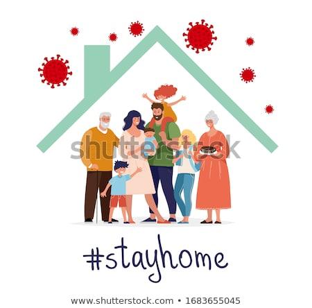 COVID-19 - Protect Yourself & Family Stock photo © Kotenko