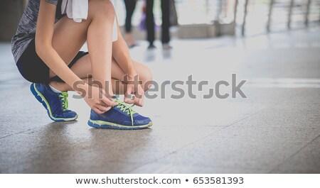 Boldog pár futók testmozgás fut kívül Stock fotó © Maridav