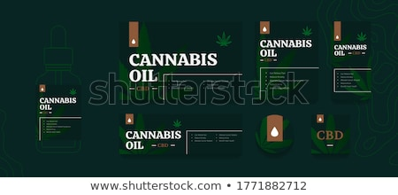 Hemp seed oil abstract concept vector illustration. Stock photo © RAStudio