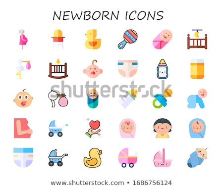 Infant Baby Bottle With Rubber Duckie  Stock photo © tobkatrina