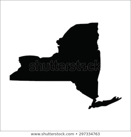 Nova Iorque mapa eps arquivo separado camadas Foto stock © Winner